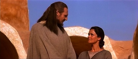 Star Wars, Qui-Gon Jinn, Shmi Skywalker, The Phantom Menace