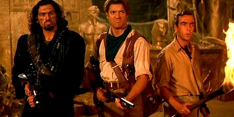 The Mummy, Brendan Fraser, Oded Fehr, John Hannah