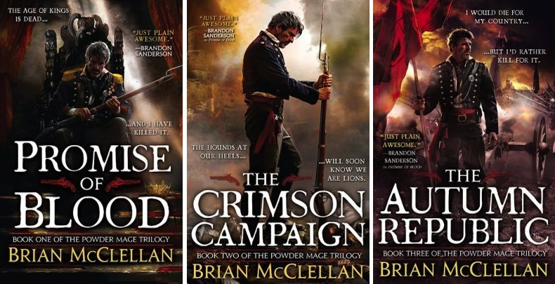 Poder Mage trilogy Brian McClellan