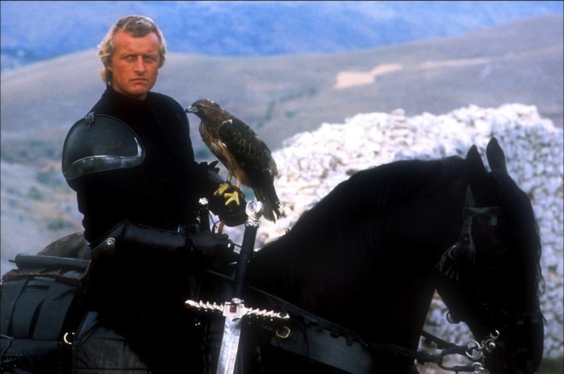 Ladyhawke: Navarre, Goliath, and the Hawk