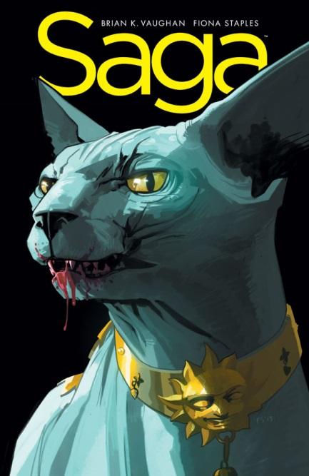 best animal sidekicks lying cat Saga