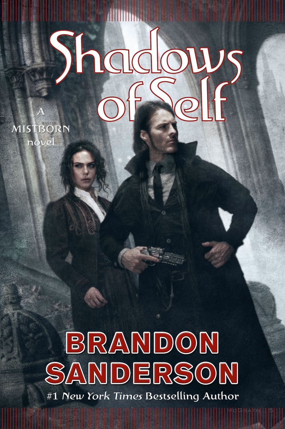 Shadows of Self cover reveal Brandon Sanderson