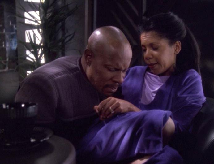 Star Trek Deep Space Nine Rewatch The Dogs of War Yates pregnant
