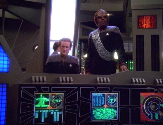 Star Trek Deep Space Nine Rewatch The Dogs of War Worf