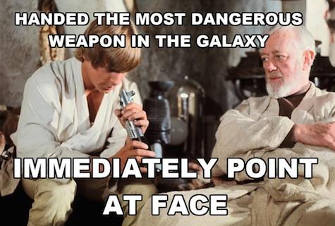 Luke Skywalker Heir to the Jedi