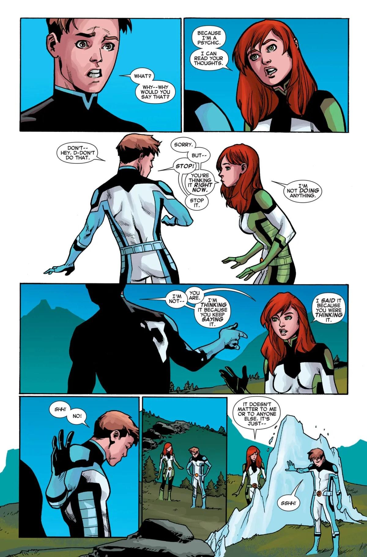 All New X-Men 40 Iceman gay