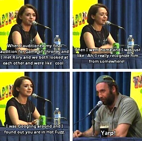 Arya Googles The Hound
