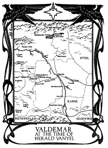 Valdemar Map Vanyel