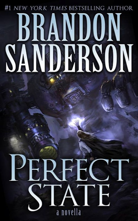 Perfect State novella Brandson Sanderson book cover