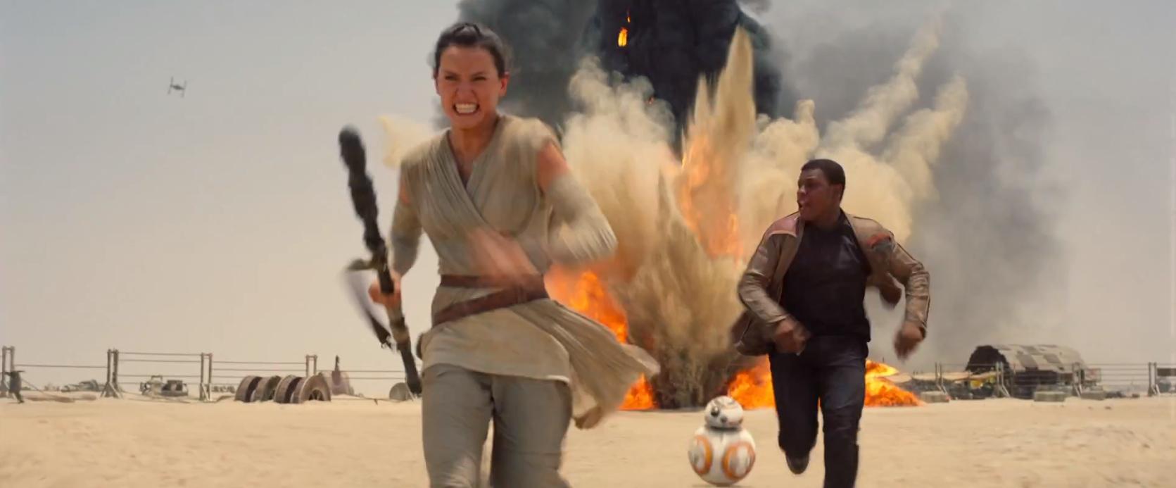 Star Wars The Force Awakens Rey Finn BB-8