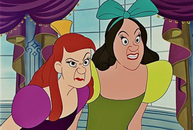 Cinderella-stepsisters