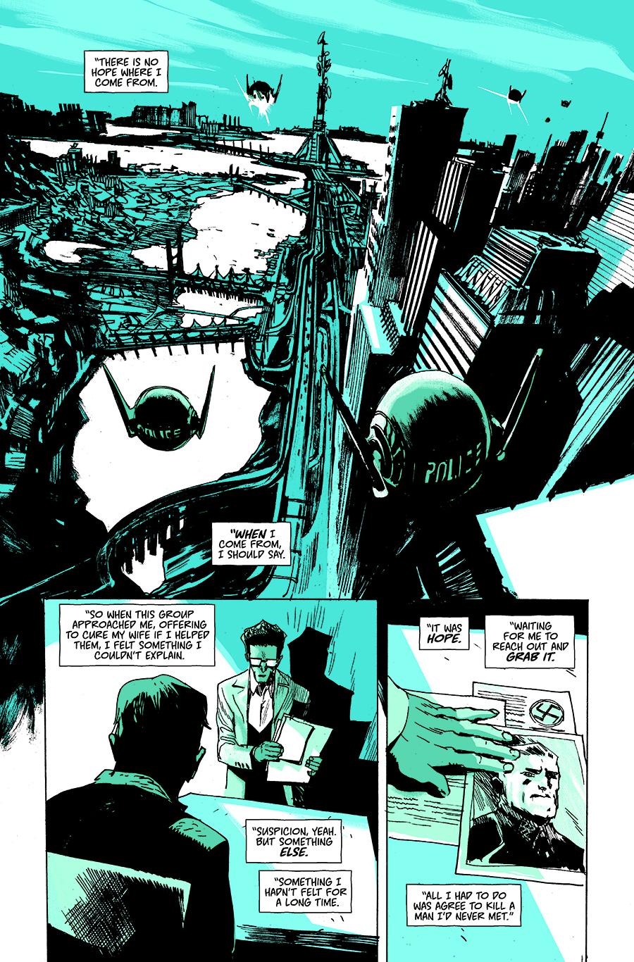 EI8HT dark horse comic issue #4