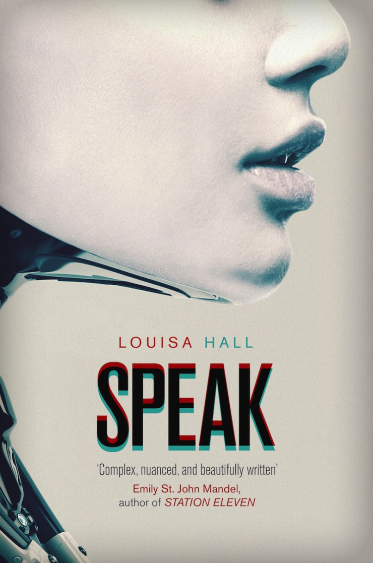 cover reveal Speak Louisa Hall Orbit Books