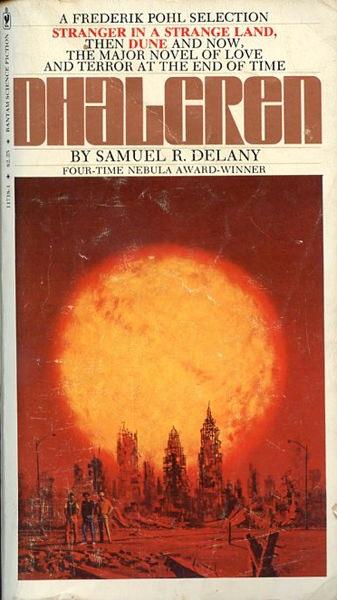 Dhalgren Samuel R. Delany book cover