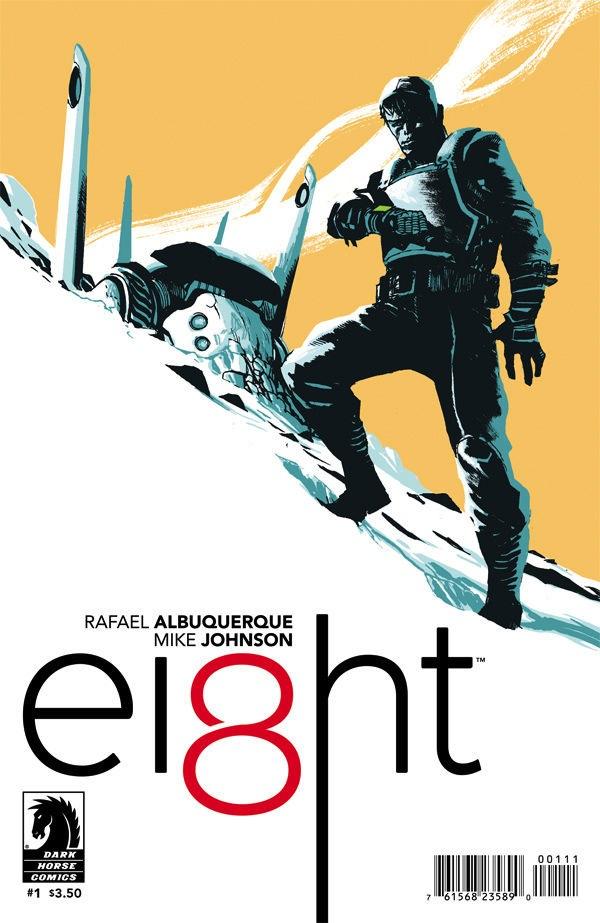 EI8HT dark horse comic