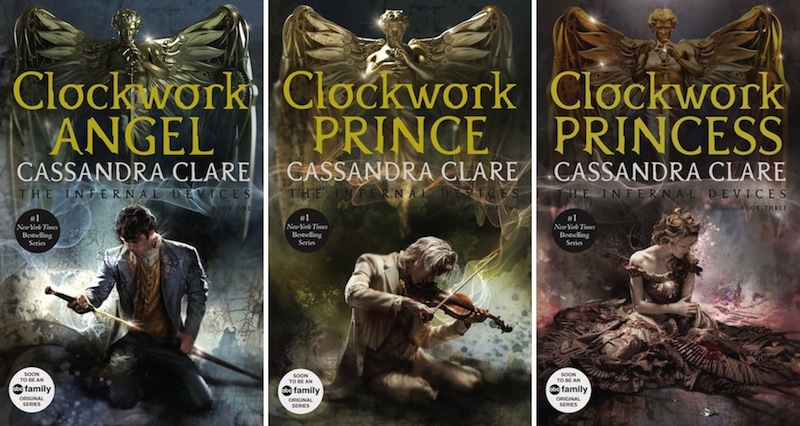 The Mortal Instruments Book Covers New Cover Art for Cass...
