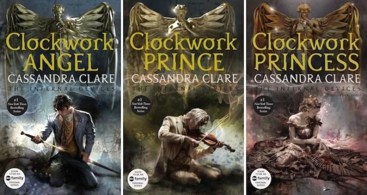 Book Cover Portadas Reviews : New cover art for cassandra clare s infernal devices