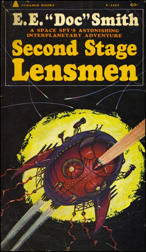 Second Stage Lensmen book cover
