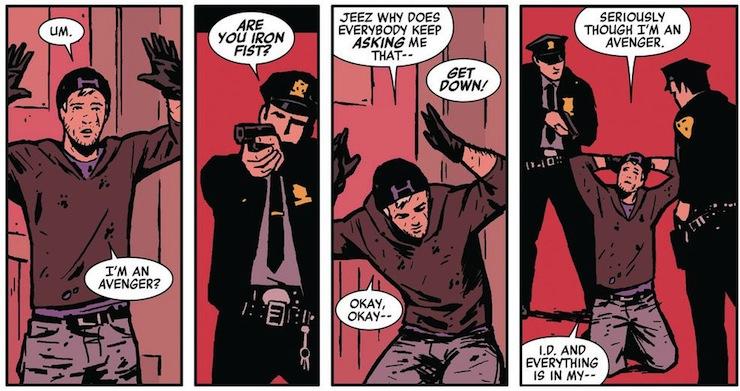 Hawkeye, comics, Matt Fraction, David Aja