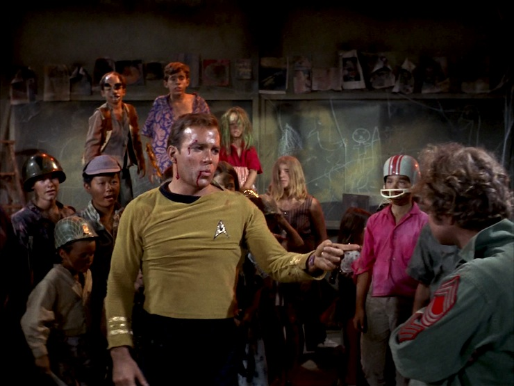 Image result for michael j pollard and william shatner""