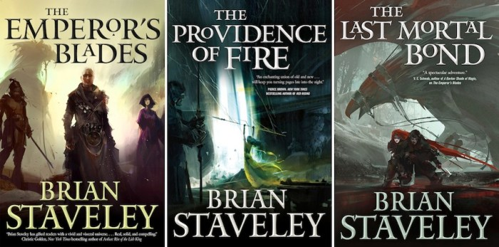 Brian Staveley Chronicle of the Unhewn Throne