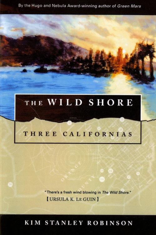 Three Californias Kim Stanley Robinson book covers