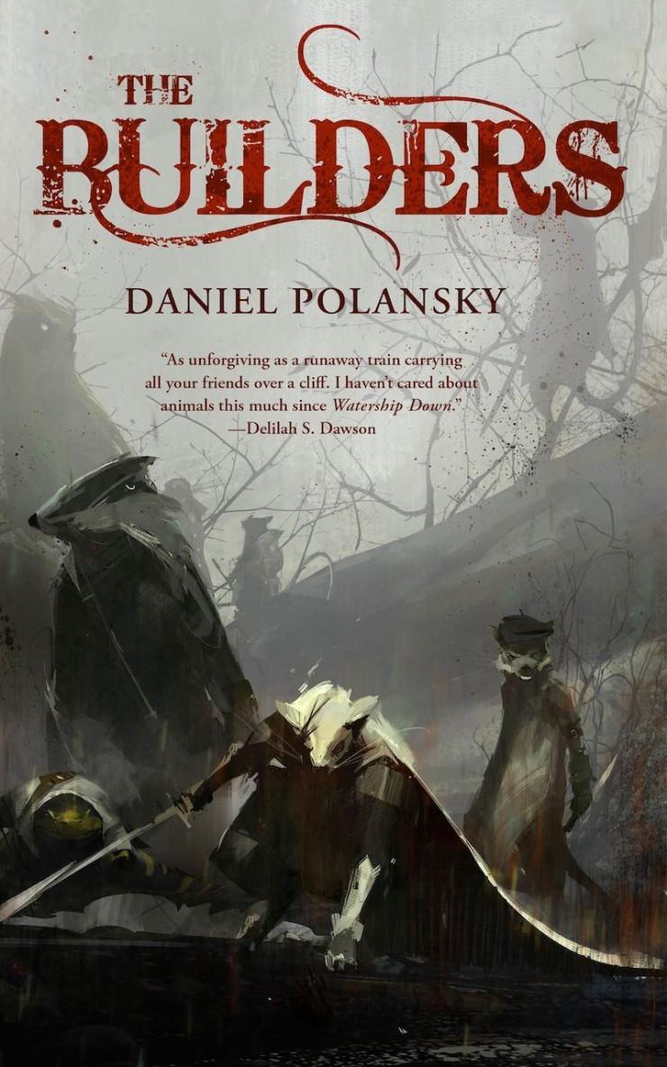 The Builders Daniel Polansky cover reveal