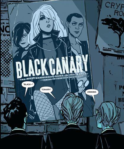Black Canary Annie Wu