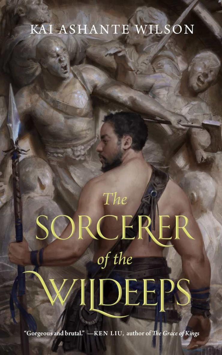 Sorcerer of the Wildeeps Kai Ashante Wilson cover reveal