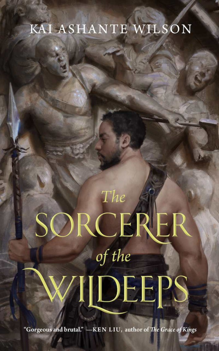Sorcerer of the Wildeeps Kai Ashante Wilson cover reveal