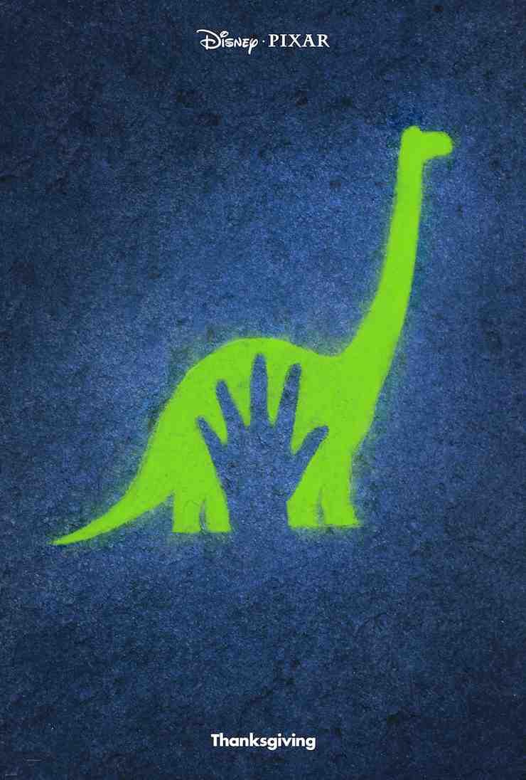 The Good Dinosaur movie poster Pixar
