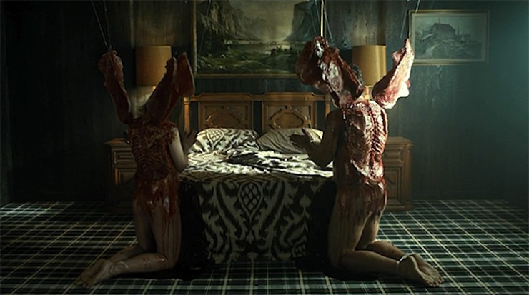 "Angels in Hannibal episode ""Coquilles"""