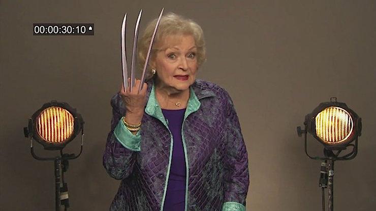 Betty White Wolverine
