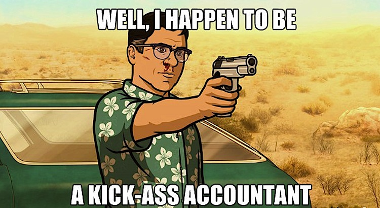 Image result for kick ass accountant
