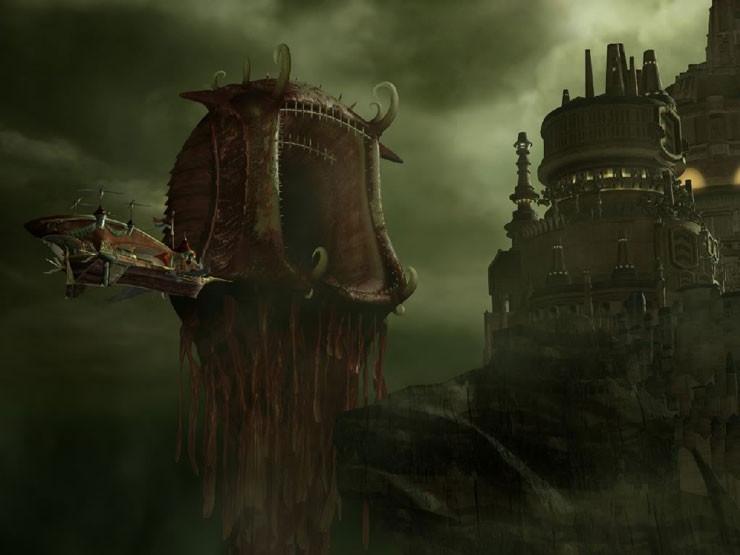 Final Fantasy 9 Atomos Lindblum