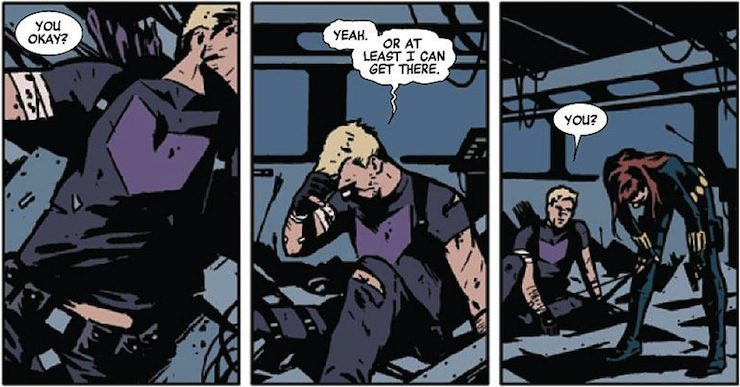 Hawkeye, Matt Fraction, David Aja
