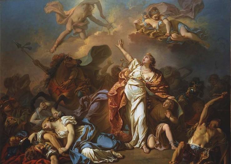 By Jacques Louis David, 1772