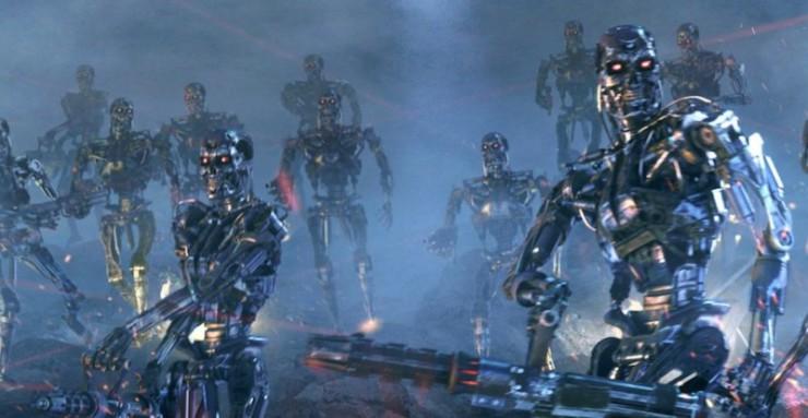 Terminator Skynet machines