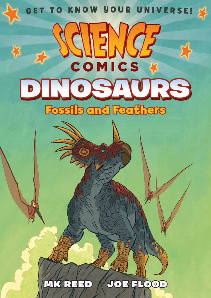MK Reed Joe Flood Science Comics Dinosaurs