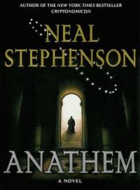 Anathem book cover Neal Stephenson language