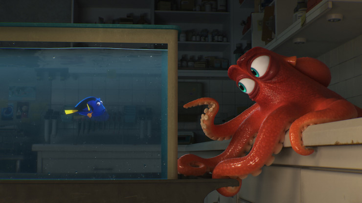 Disney D23 Expo 2015 Finding Dory