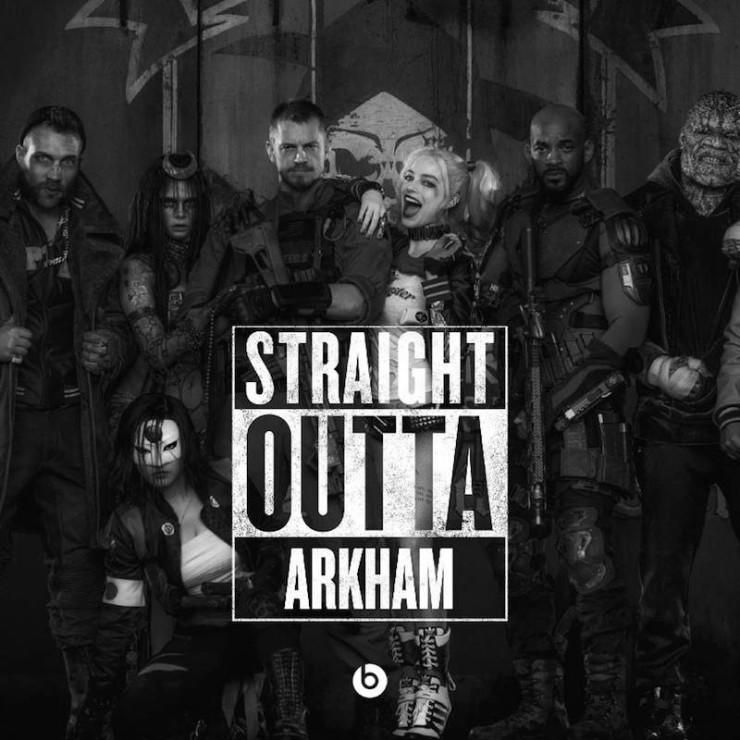 #StraightOutta geeky meme Arkham