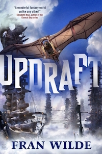 Updraft Fran Wilde language down up