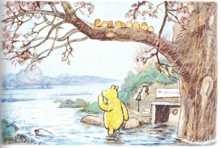 winnie the pooh Ernest Shepherd