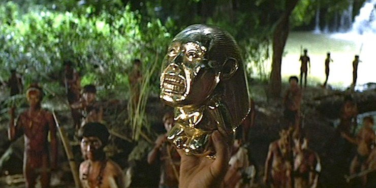 Belloq Presents the Idol in Raiders of the Lost Ark