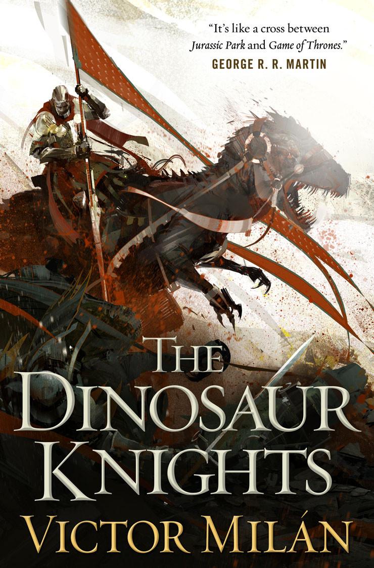 Dinosaur Knights Victor Milan cover Richard Anderson