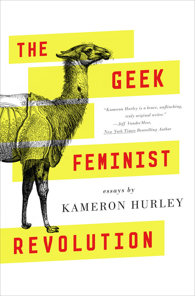 The Geek Feminist Revolution by Kameron Hurley cover