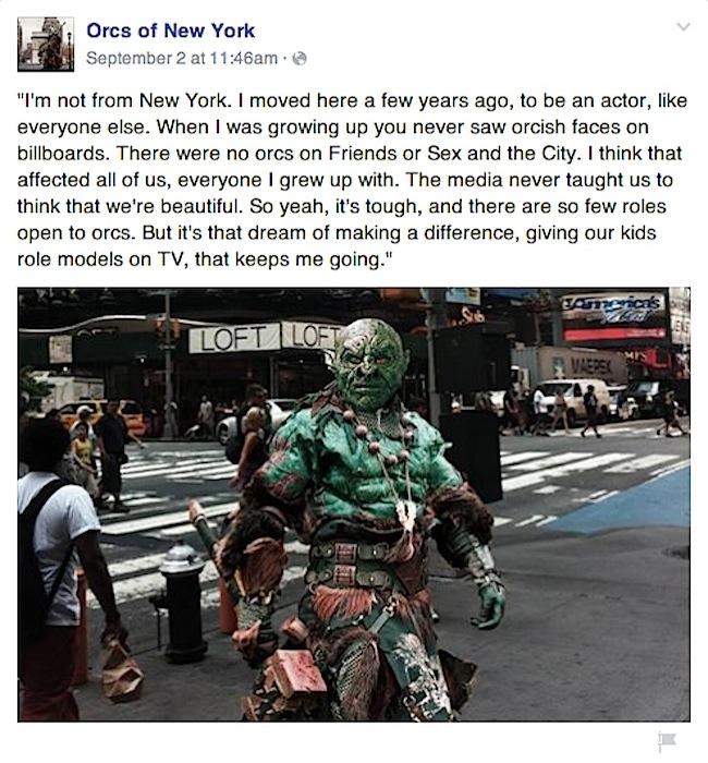 Orcs of New York by Harry Aspinwall