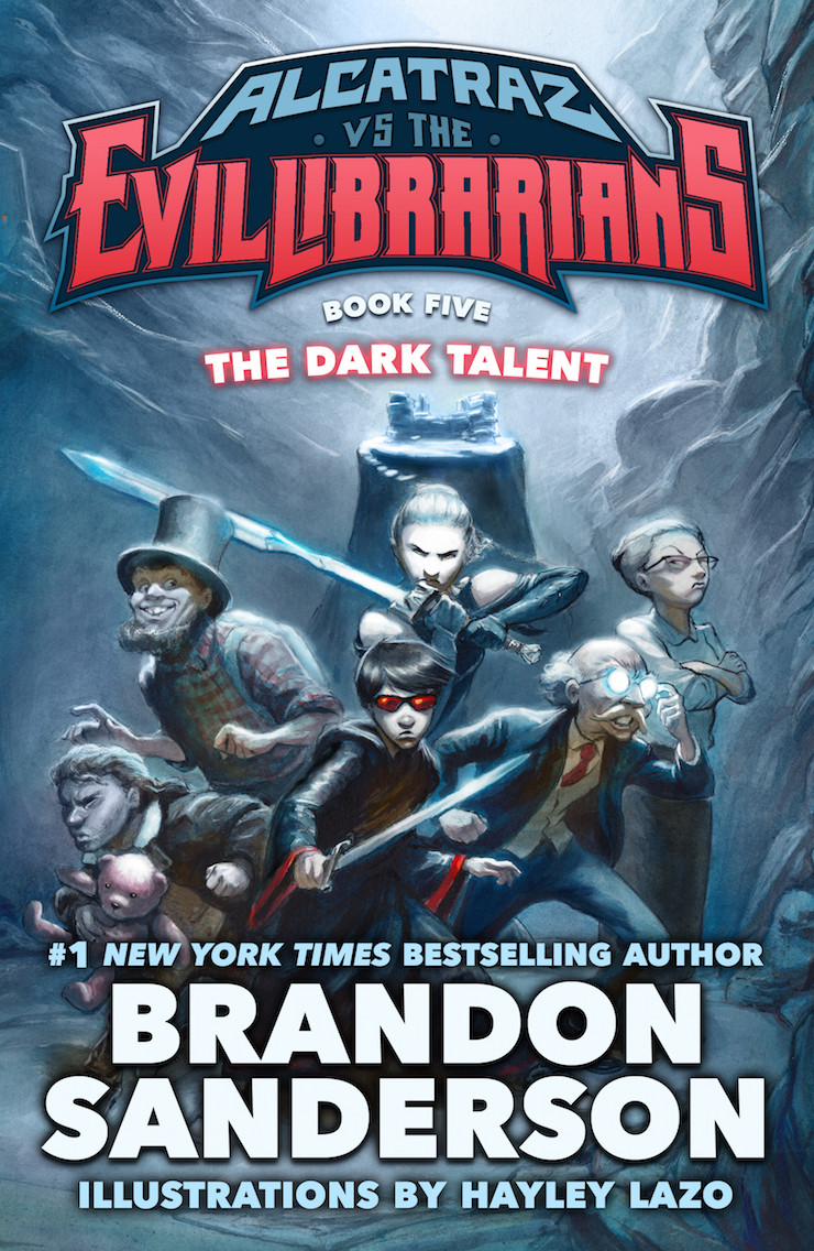 Alcatraz #5 The Dark Talent by Brandon Sanderson