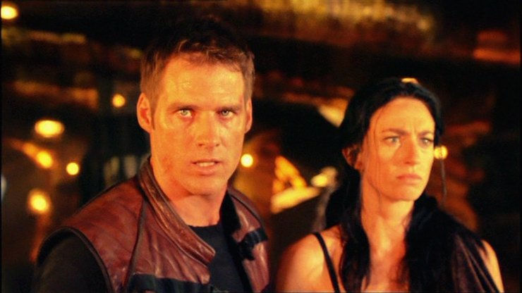 Farscape, John and Aeryn, Peacekeeper Wars